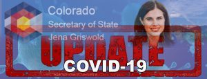 Colorado Secretary of State COVID-19 Business Resource Update